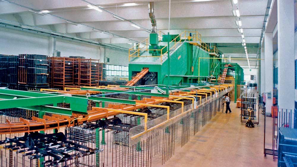impianto continuo con catena centrale 5