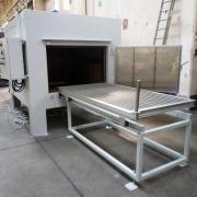 02 forno statico elettrico con carrello