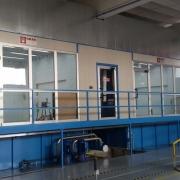 04 cabine applicazione vernici liquide con abbattimento ad acqua
