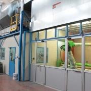05 cabine applicazione vernici liquide con abbattimento ad acqua
